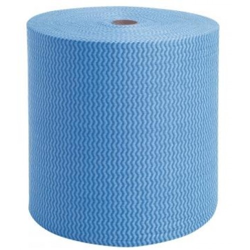 Pano Multiuso Tipo Perfex Limpeza Leve 35gr 30x300mts - Azul
